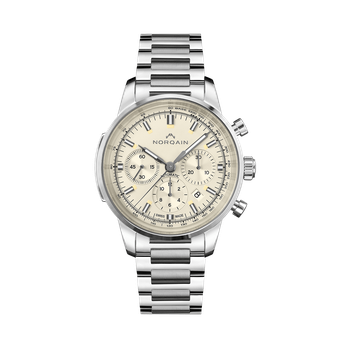 Freedom 60 Chrono - Cream On Bracelet
