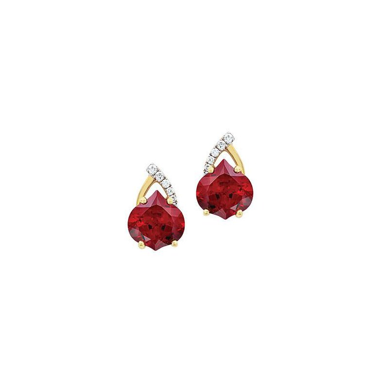 Chatham Ruby Earrings-CE3039YWRU