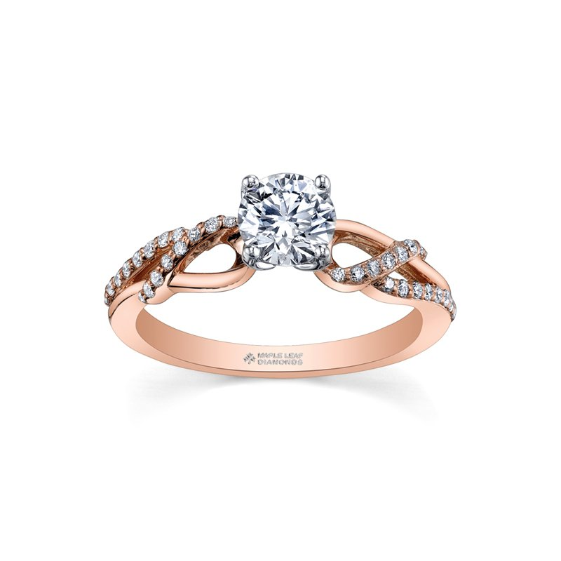 Maple Leaf Diamonds Maple Leaf Diamonds™ Eternal Flames™ Ladies Engagement Ring
