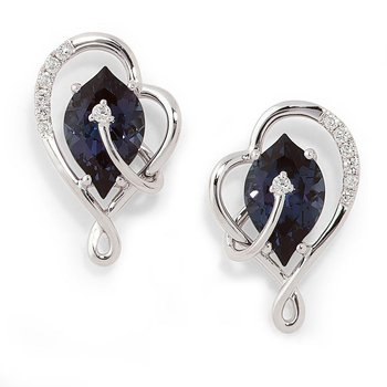 Alexandrite Earrings-CE3497WAL