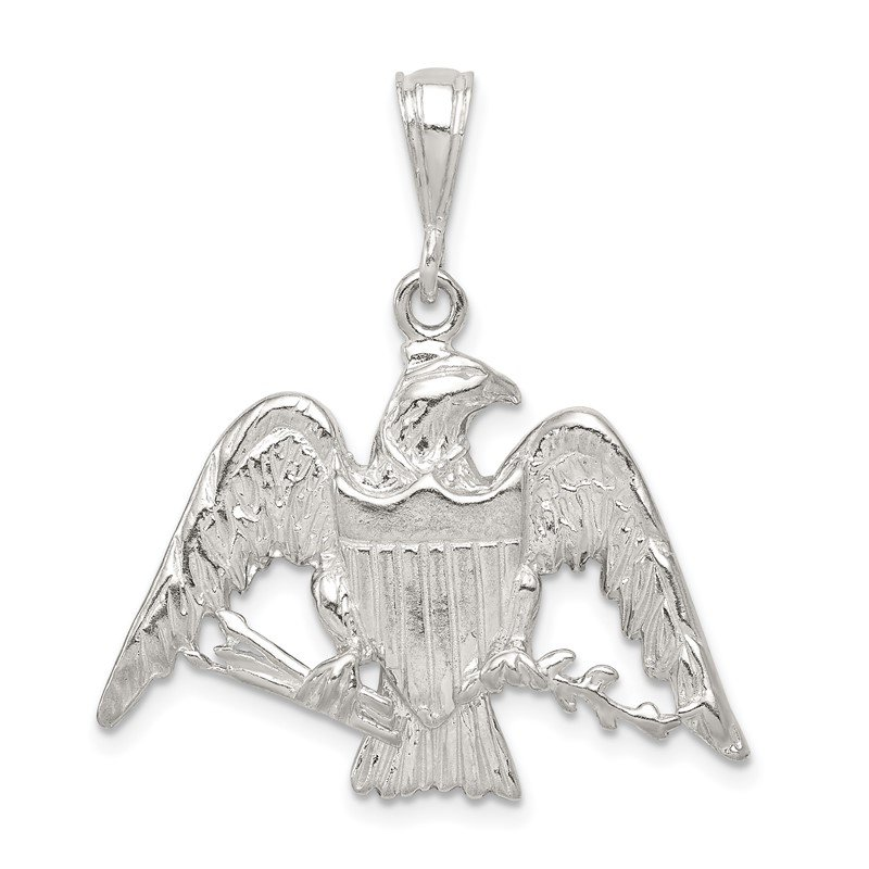J.F. Kruse Signature Collection Sterling Silver Eagle Charm
