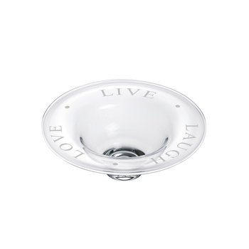 "Engraved ""Live Laugh Love"" Celebration Bowl - M"