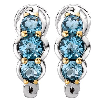 Ladies Gemstone Earrings