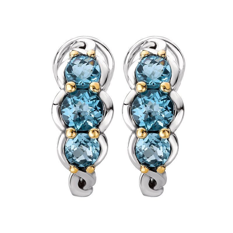 Eleganza Ladies Gemstone Earrings