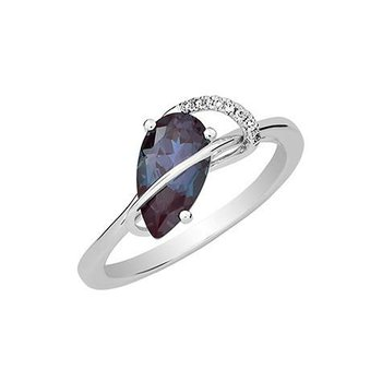 Alexandrite Ring-CR12407WAL