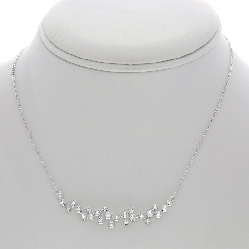 Roman & Jules Diamond Smile Necklace