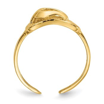 14k Sandal Toe Ring