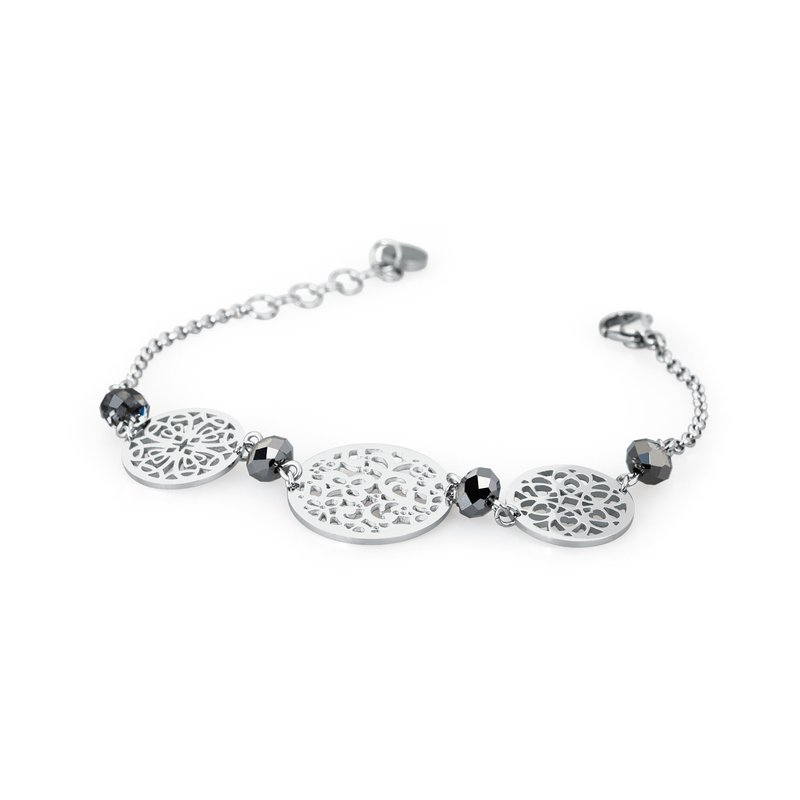 Brosway 316L stainless steel and silver night Swarovski® Elements stones