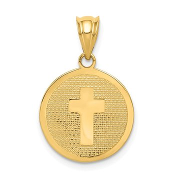 14k Reversible Cross & 1st Holy Communion Charm