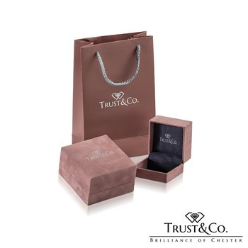 Trilogy Set with Diamond Set Shoulders
