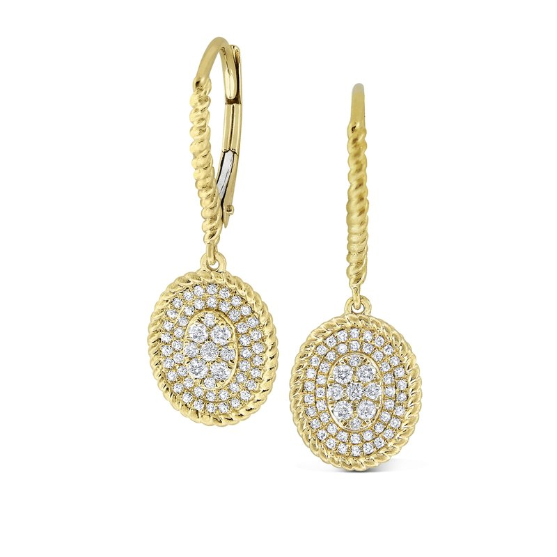 MAZZARESE Fashion 14K Diamond Fashion Earrings