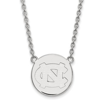 Sterling Silver University of North Carolina NCAA Necklace