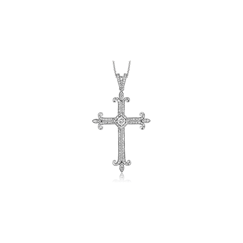 Simon G MP1799 CROSS PENDANT