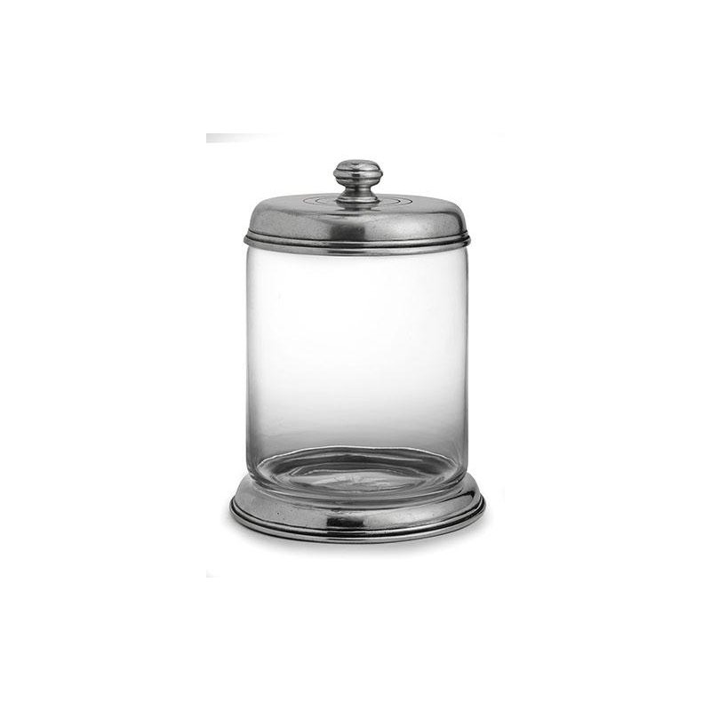 Arte Italica Large Glass Canister