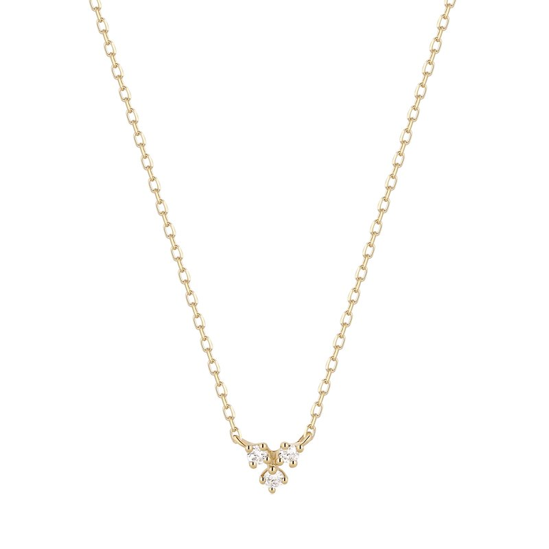 Aurelie Gi CLOVER | Diamond Necklace