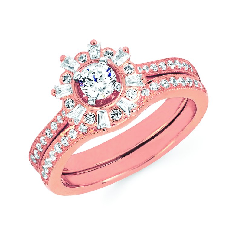 J.F. Kruse Signature Collection Ring RD V 0.25 RD P 0.25 STD