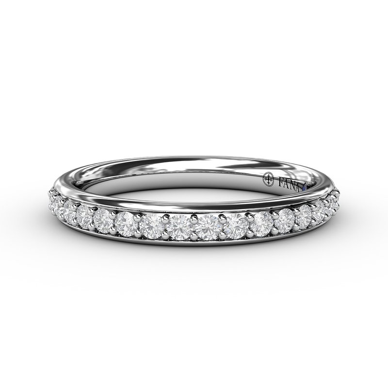 Fana 1/3ct Prong Set Anniversary Band