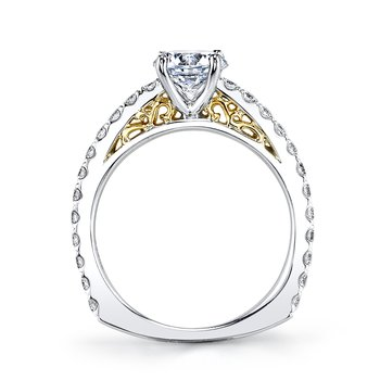 Diamond Engagement Ring, 0.53 ct tw