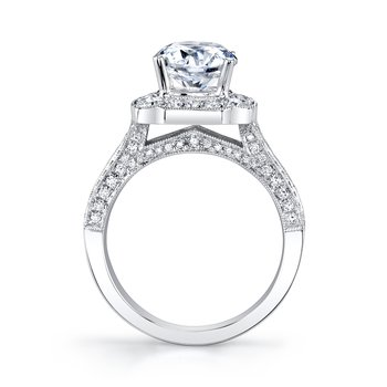 MARS 27121 Engagement Ring, 0.70 Ct Rd.