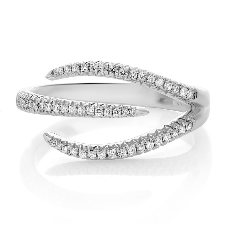Roman & Jules Staggered White Diamond Ring