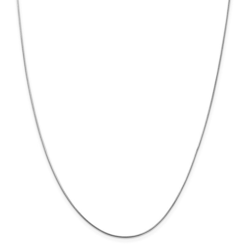 Leslie's Leslie's 14K White Gold .8 mm Snake Chain