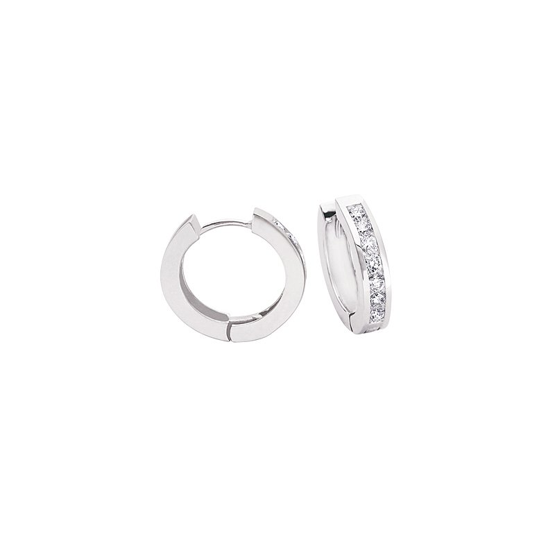S. Kashi  & Sons Huggie Diamond Earring