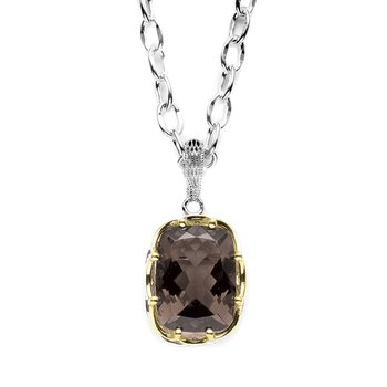 Rectangular Drop Pendant (Chain not included)