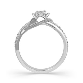 ENTWINE ROSE RING