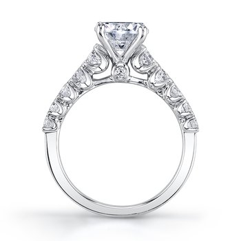 MARS 26343 Diamond Engagement Ring 0.63 ctw