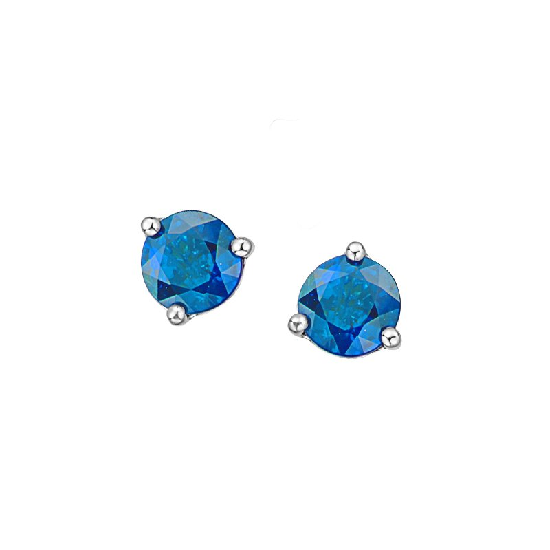 Diamond Days Blue Topaz Earrings