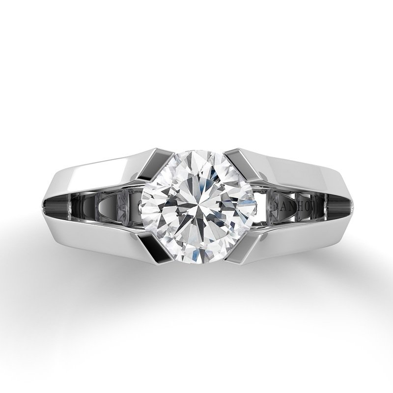 Danhov Voltaggio Split Shank Engagement Ring