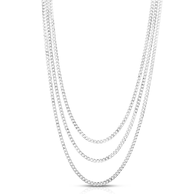 Royal Chain Silver La Gourmette Triple Strand Chain