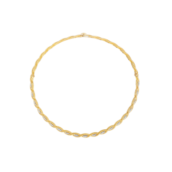 Collar With Diamonds &Ndash; 18K Yellow Gold