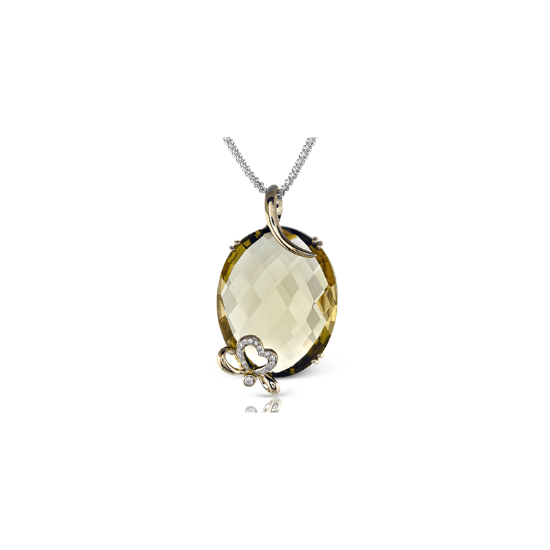 Zeghani ZP362 COLOR PENDANT