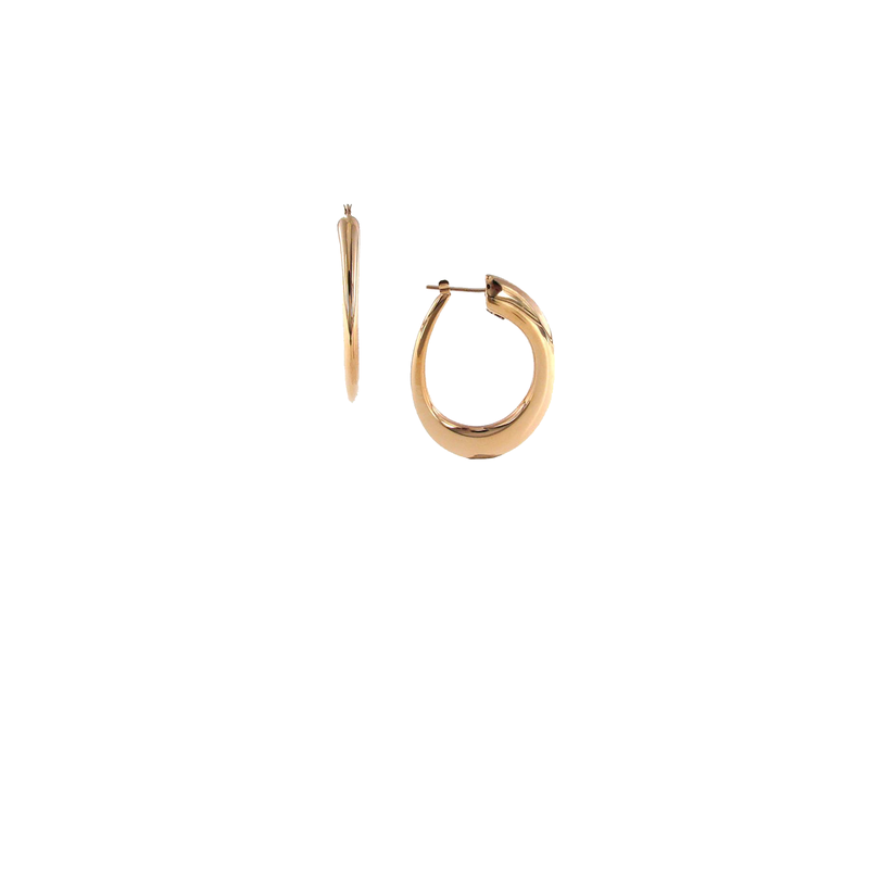 Roberto Coin 18KT GOLD HOOPS