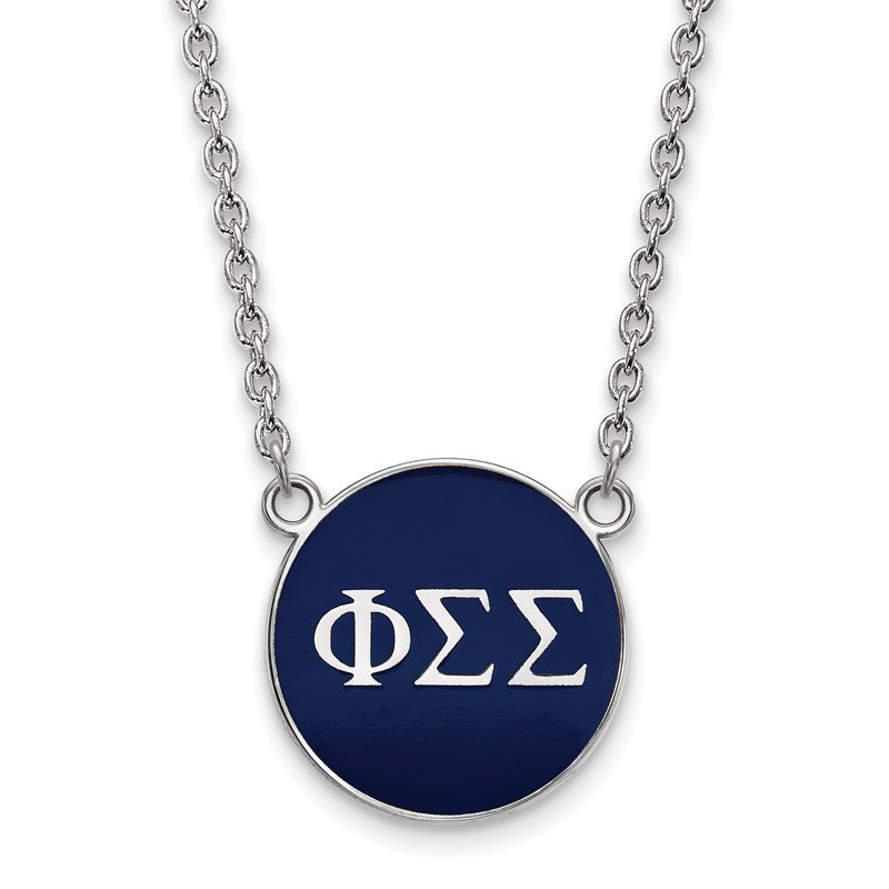 Greek Life Sterling Silver Phi Sigma Sigma Greek Life Necklace