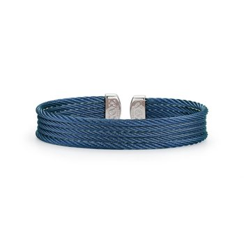 Blueberry Cable Mini Cuff