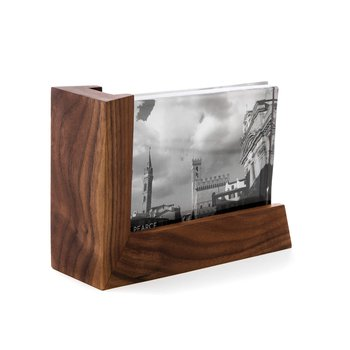 Ludlow Glass & Wood Photo Frame - 4 x 6