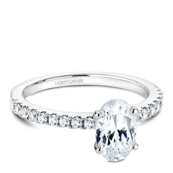 Noam Carver Fancy Engagement Ring B017-02A
