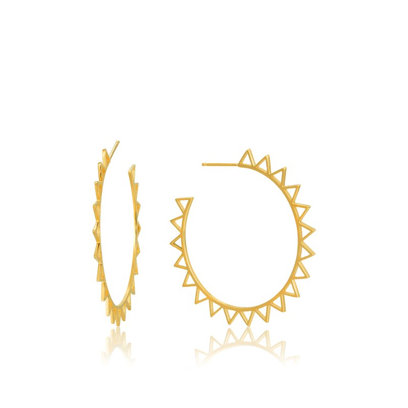 Ania Haie Spike Hoop Earrings