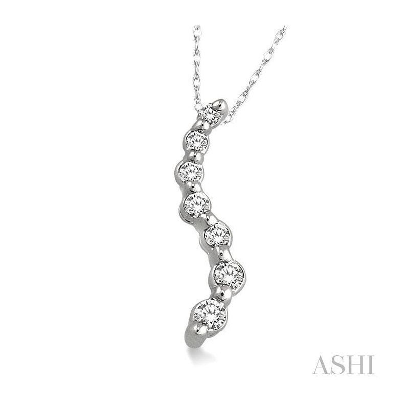 ASHI journey diamond pendant