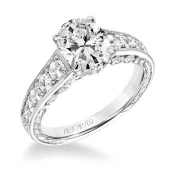 Artcarved Mariah Diamond Engagement Mounting