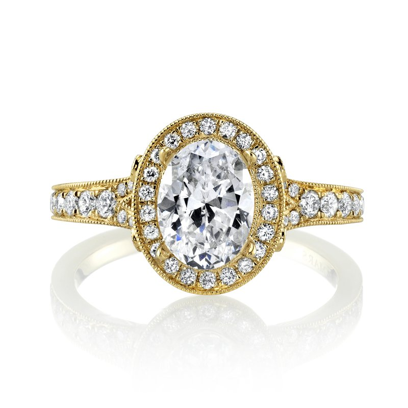 MARS Jewelry MARS 27125 Engagement Ring, 0.48 Ctw.