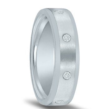 Men's 1/4 Carat Diamond Wedding Band ND01683  by Novell