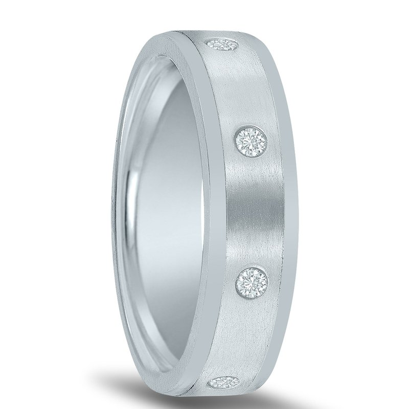 Novell Men's 1/4 Carat Diamond Wedding Band ND01683  by Novell
