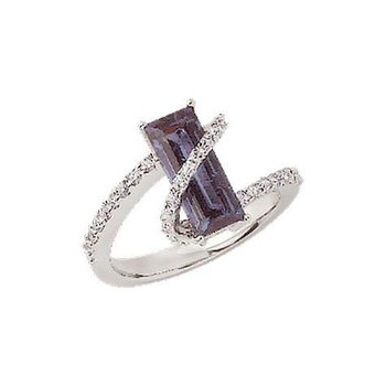 Alexandrite Ring-CR7029WAL