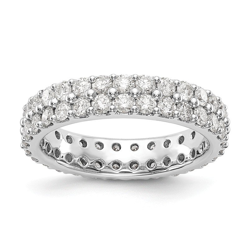 True Origin 14kw True Origin Lab Grown Dia VS/SI D,E,F 2ct. Dbl Row Eternity Band