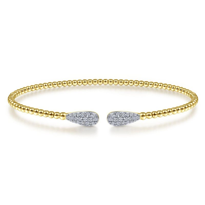 Amavida 14K Yellow Gold Fashion Bangle
