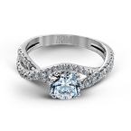 Zeghani ZR562 ENGAGEMENT RING