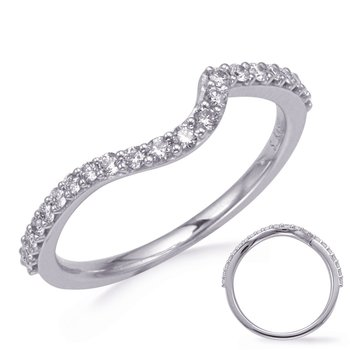 White Gold Diamond Weddding Band